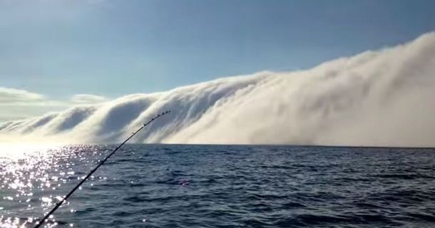 This Guy Captured Something Incredible While Out Fishing